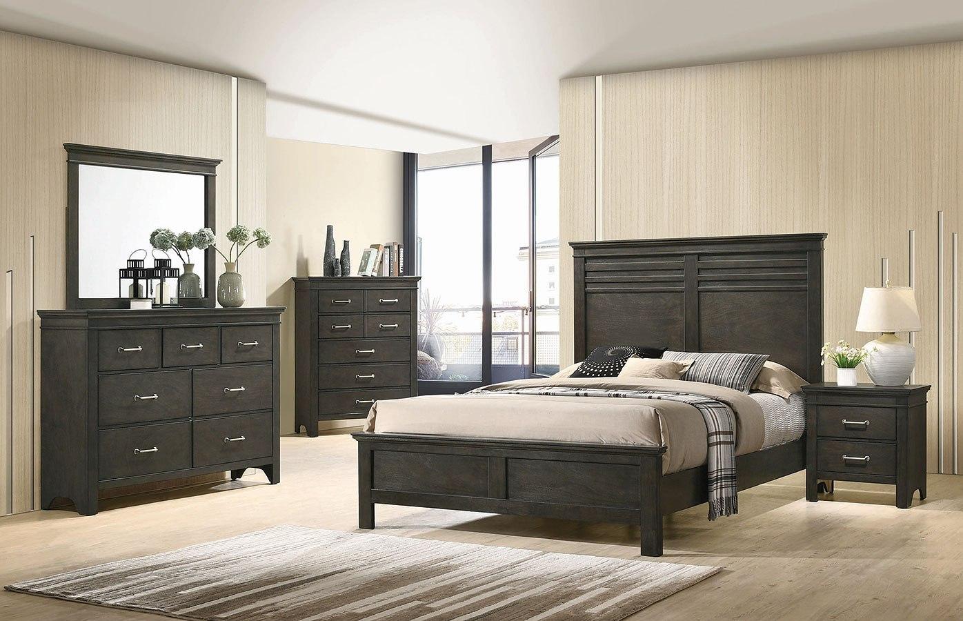Newberry Panel Bedroom Set Coaster Furniture Furniture Cart