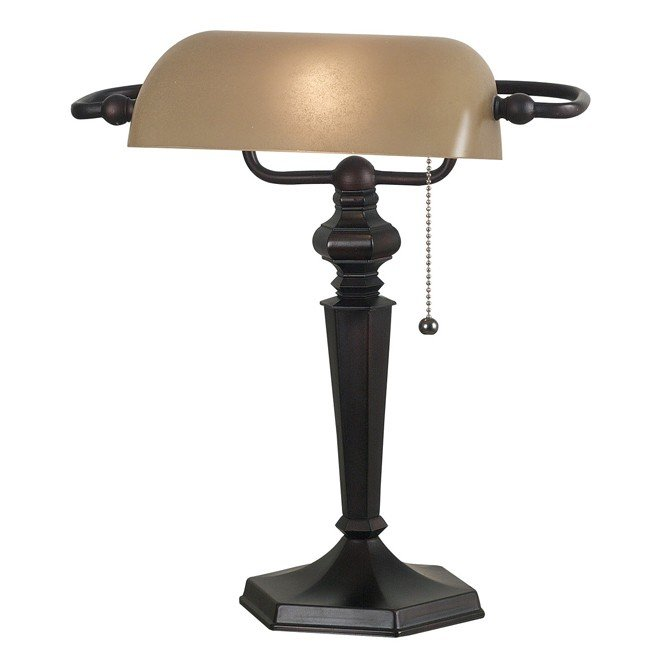 Chesapeake Banker Lamp (Oil Rubbed Bronze)