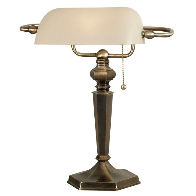 Mackinley Banker Lamp (Georgetown Bronze)