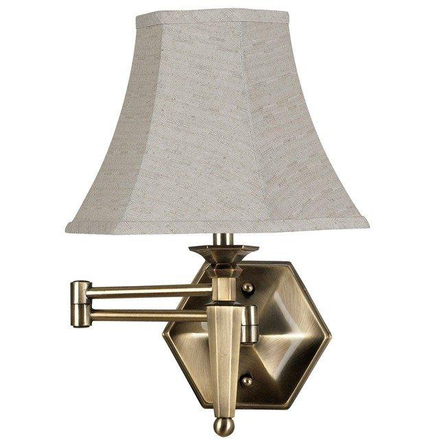 Mackinley Wall Swing Arm Lamp (Georgetown Bronze)