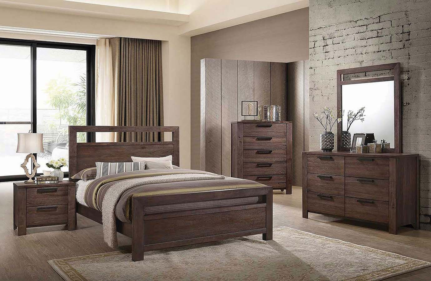 Caila Panel Bedroom Set Coaster Furniture Furniture Cart