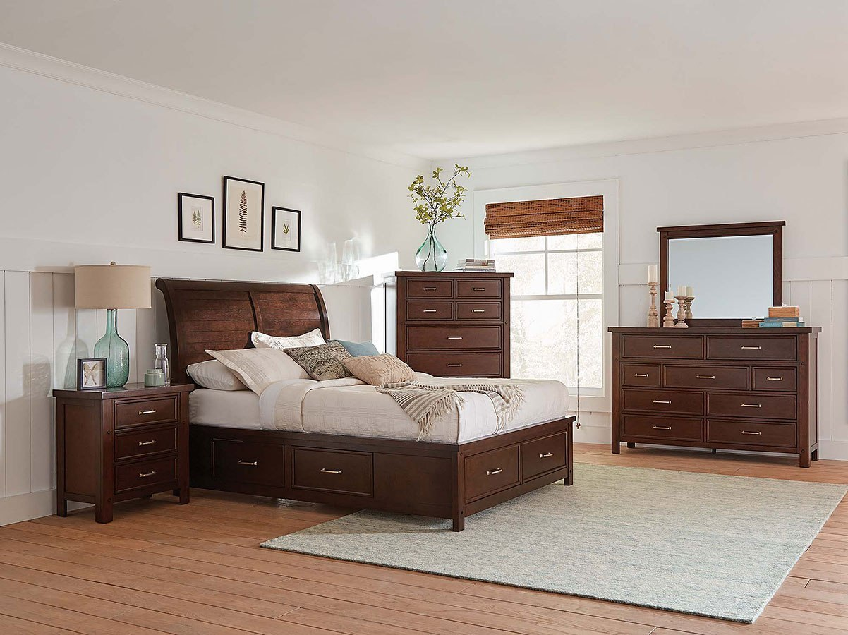 Barstow Storage Bedroom Set Coaster Furniture Furniture Cart