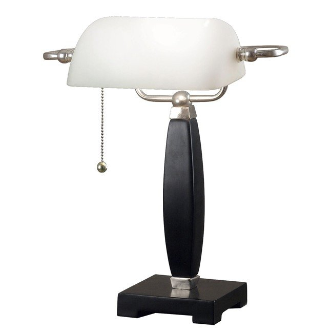 Blaine Bankers Lamp (Black)