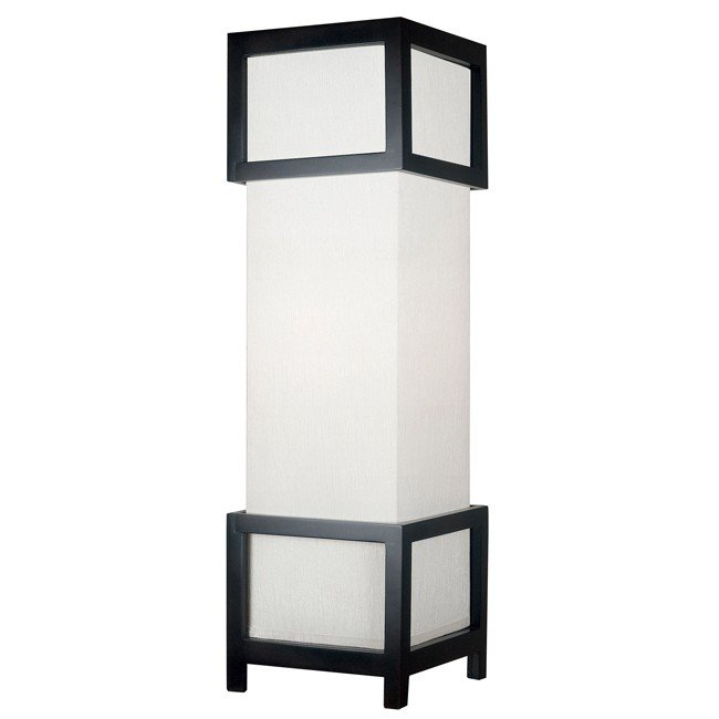 Tower Table Lamp (Mahogany)