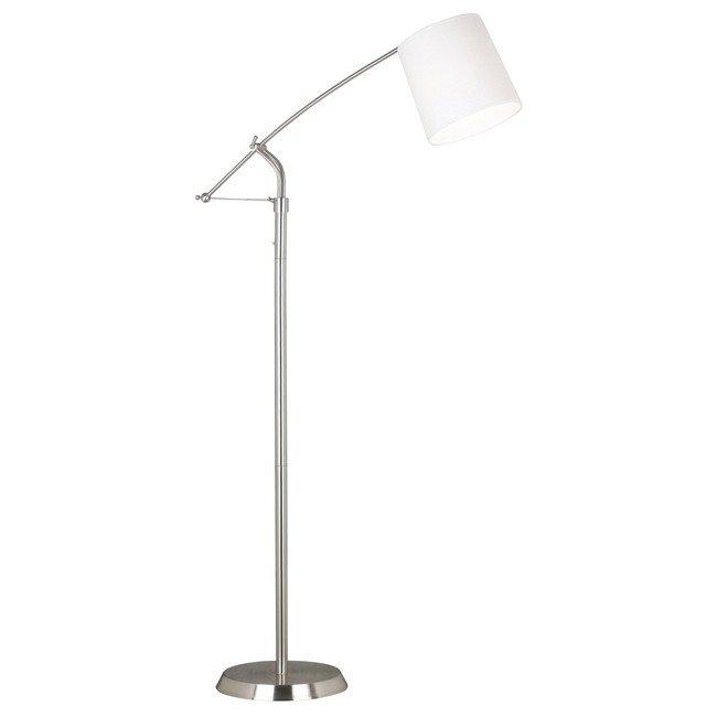 Reeler Floor Lamp (Brushed Steel)