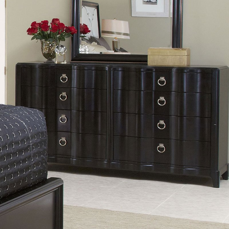 Cosmopolitan Drawer Dresser (Ebony)
