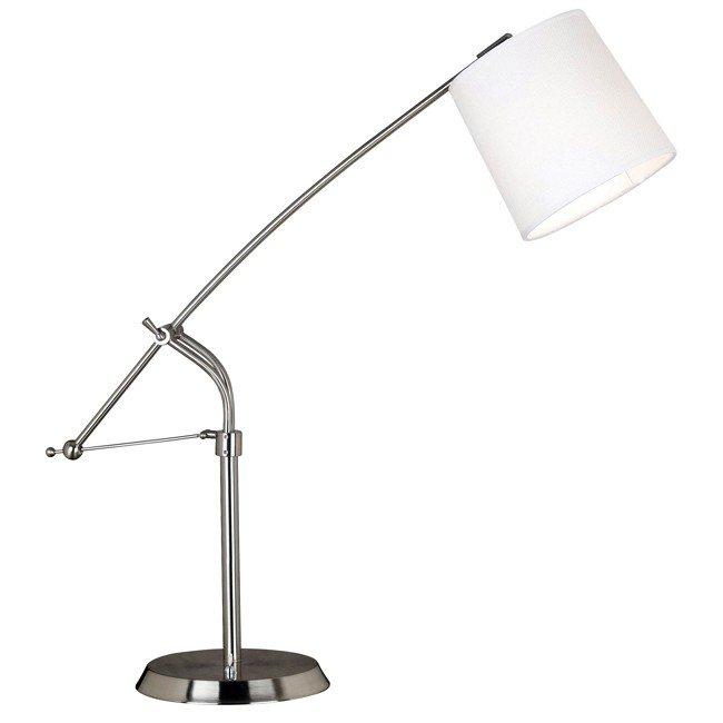 Reeler Table Lamp (Brushed Steel)