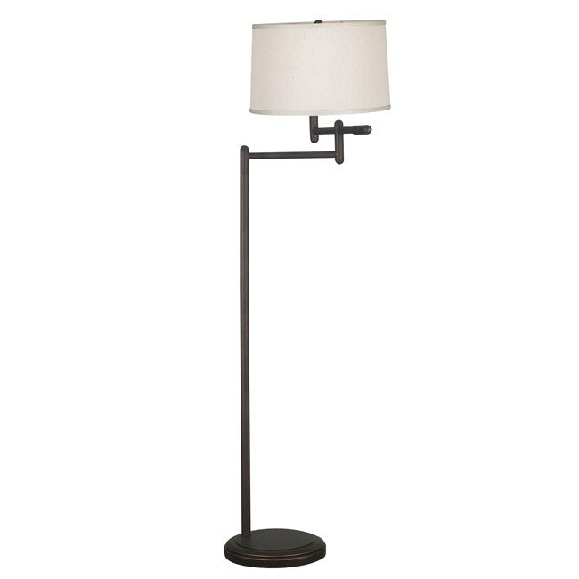 Theta Swing Arm Floor Lamp (Copper Bronze)
