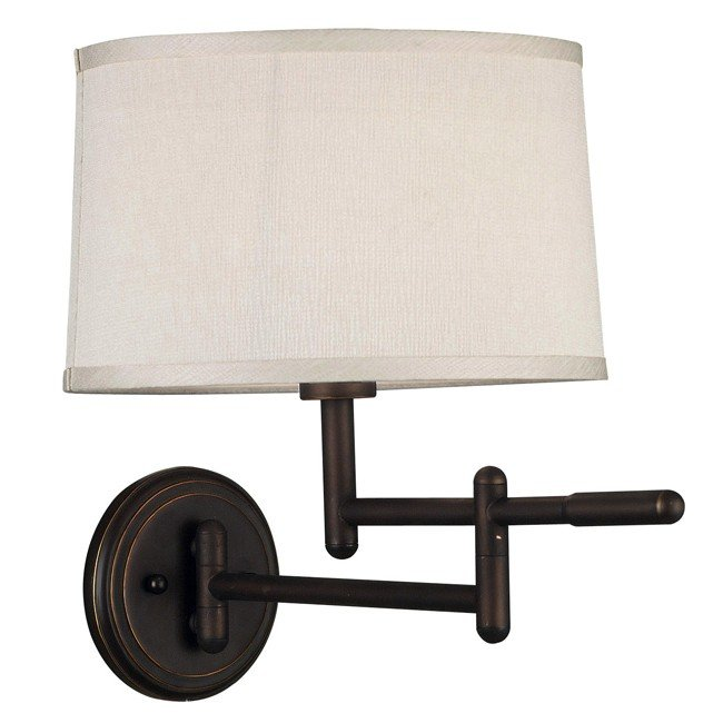 Theta Wall Swing Arm Lamp (Copper Bronze)