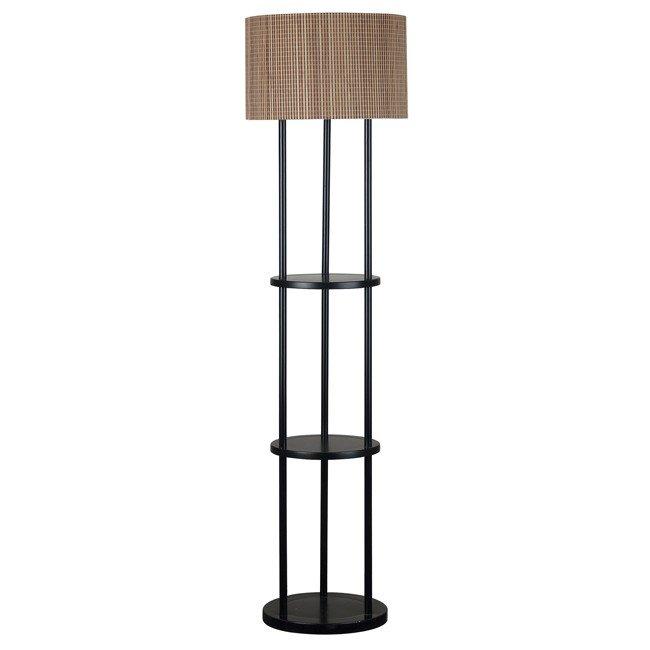 Curio Floor Lamp (Oil Rubbed Bronze)