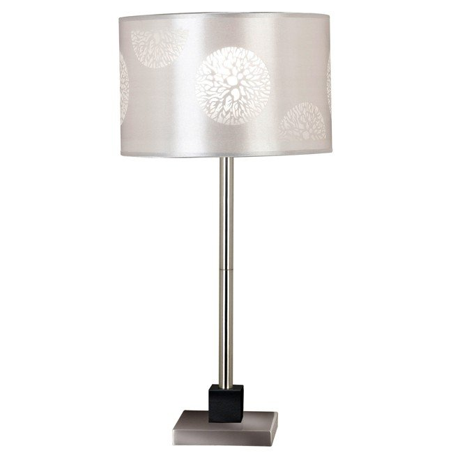 Cordova Table Lamp (Brushed Steel)