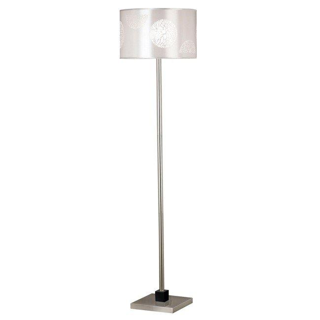 Cordova Floor Lamp (Brushed Steel)