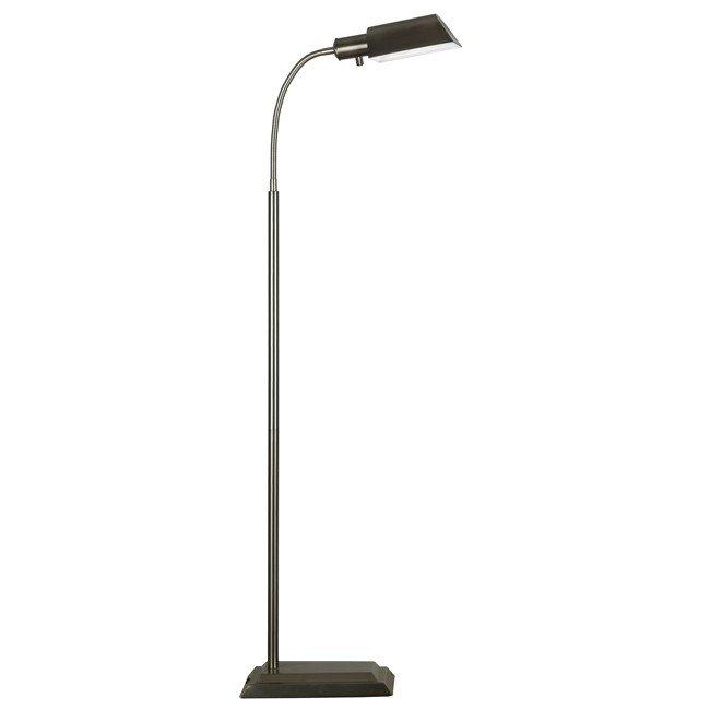 Steward Floor Lamp (Vintage Brass)