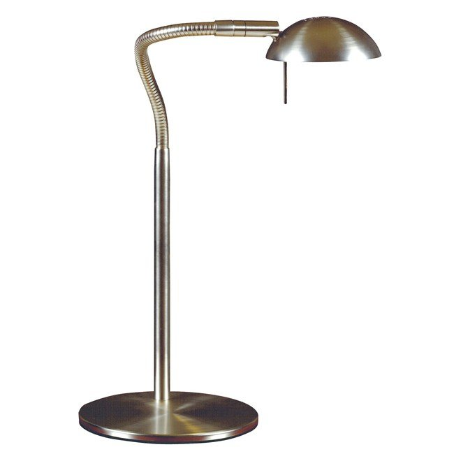 Basis Desk Lamp (Brushed Steel)
