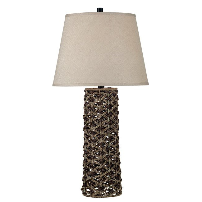 Jakarta Table Lamp (Light and Dark Rope)