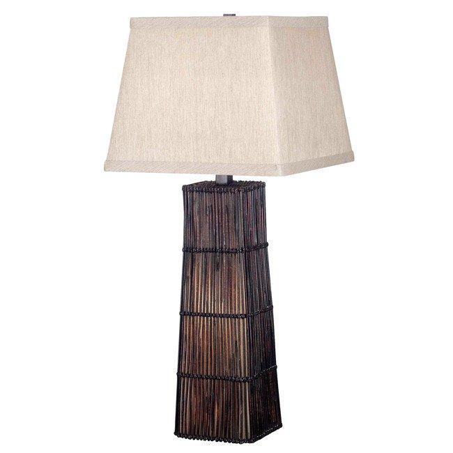 Wakefield Table Lamp (Dark Rattan)