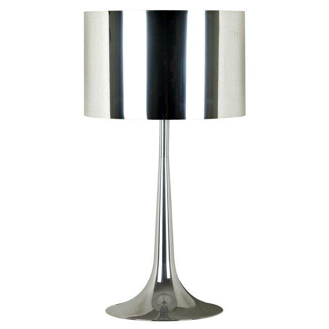 Keystone Table Lamp (Chrome)