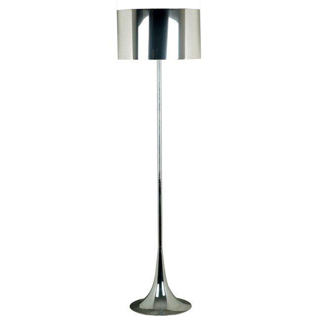 Keystone Floor Lamp (Chrome)