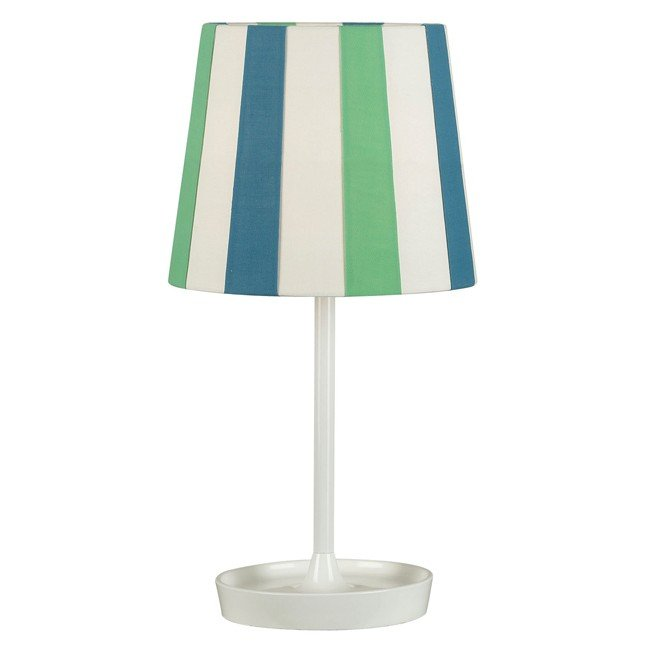 Raya Accent Lamp (Blue/White)