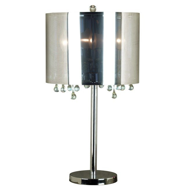 Roma Table Lamp (Chrome)