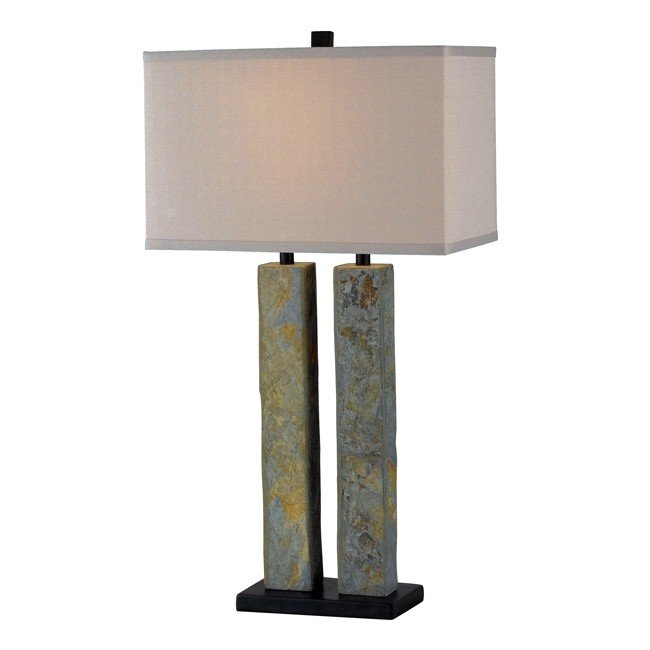 Barre Table Lamp (Natural Slate)