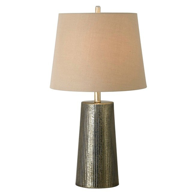 Templeton Table Lamp (Gold Flecked Glass)