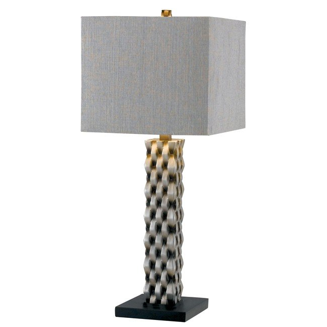 Element Table Lamp (Aged Silver)