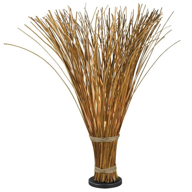 Sheaf Floor Lamp (Natural Reed)