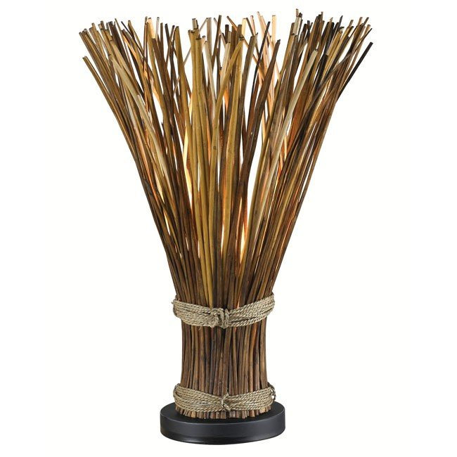 Sheaf Table Lamp (Natural Reed)