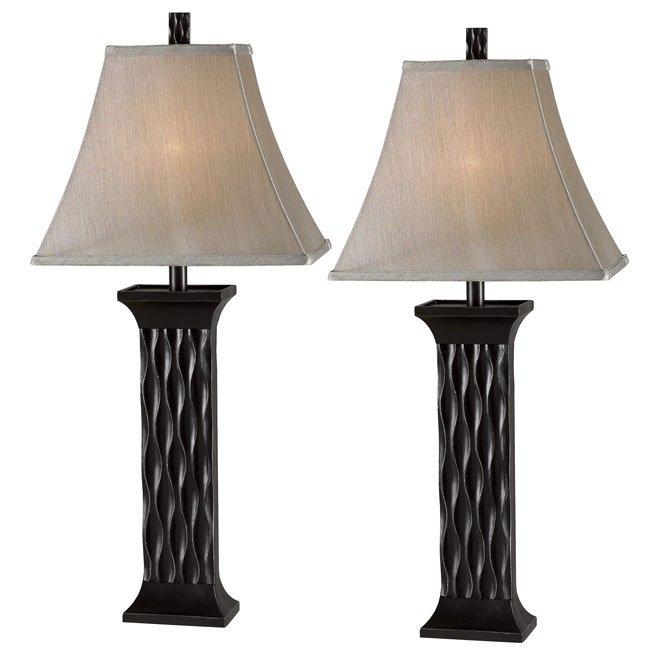 Schaeffer 2-Pack Table Lamp (Black)