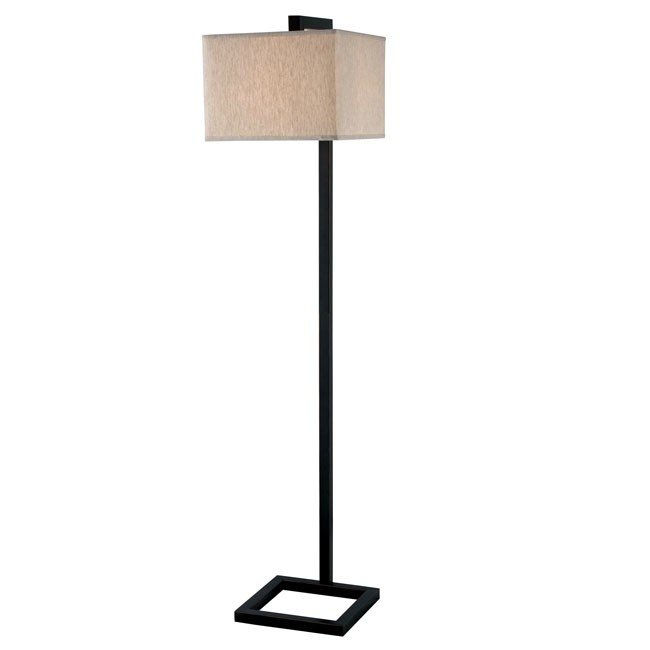 4 Square Floor Lamp (Oil Rubbed Bronze)