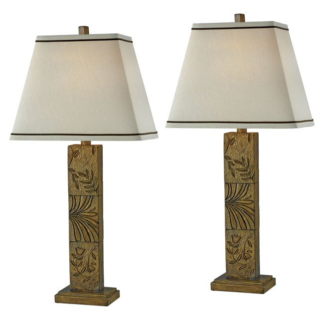 Botanica 2-Pack Table Lamp (Toffee)