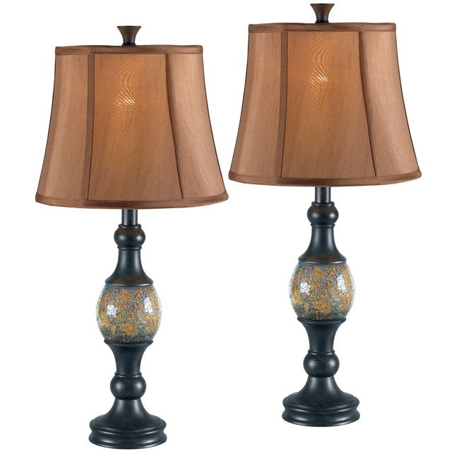 Shay 2-Pack Table Lamp (Bronze)