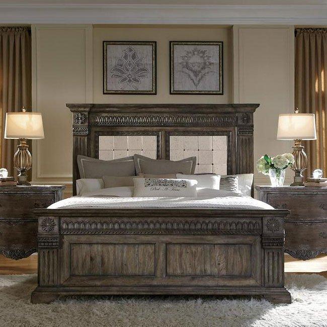 Accentrics Home Arabella Panel Bed