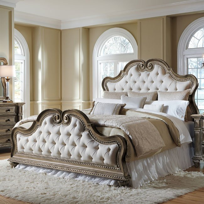 Accentrics Home Arabella Upholstered Bed