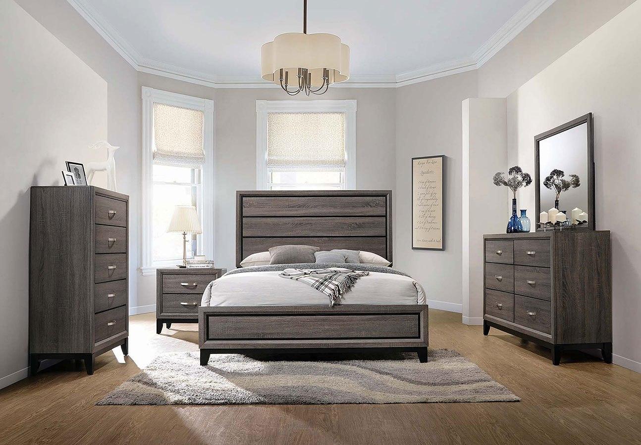 Watson Panel Bedroom Set Coaster Furniture Furniture Cart
