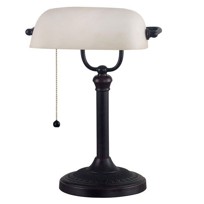 Amherst Banker Lamp (Oil Rubbed Bronze)