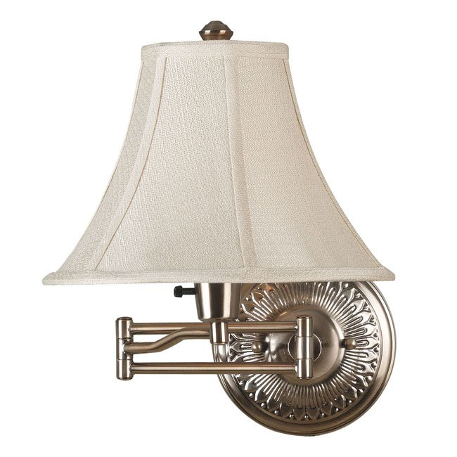 Amherst Wall Swing Arm Lamp (Bronzed Brass)