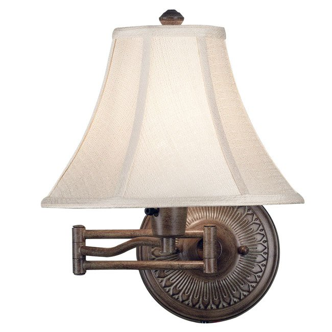 Amherst Wall Swing Arm Lamp (Nutmeg)