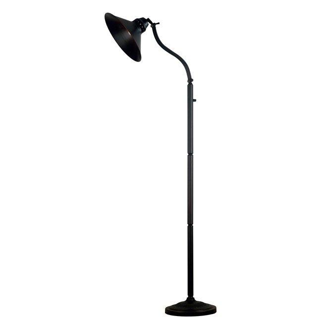 Amherst Adjustable Floor Lamp (Oil Rubbed Bronze)