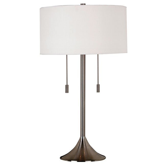 Stowe Table Lamp (Brushed Steel)