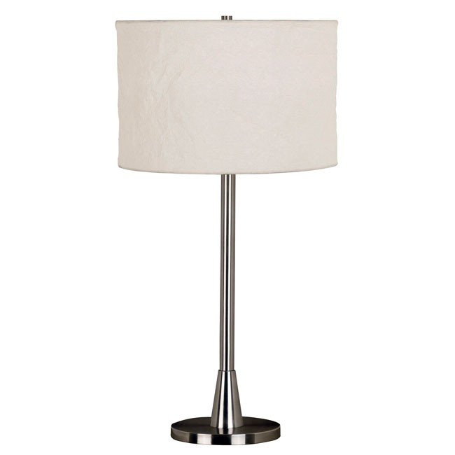 Rush Table Lamp (Brushed Steel)