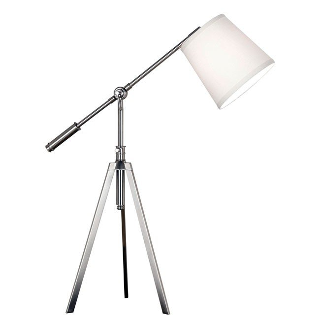 Axel Table Lamp (Brushed Steel)