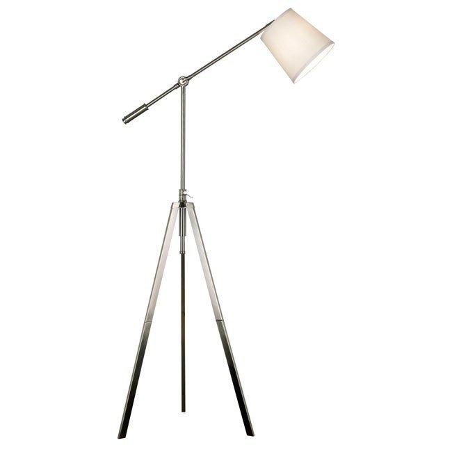 Axel Floor Lamp (Brushed Steel)