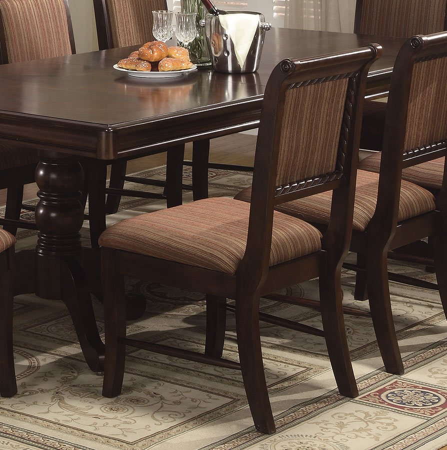 Merlot Dining Room Set Crown Mark Furniture 1 Reviews