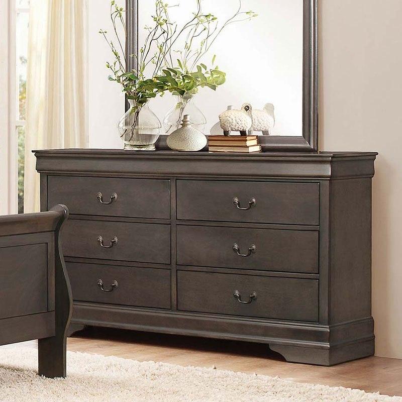 Mayville Dresser (Stained Grey)