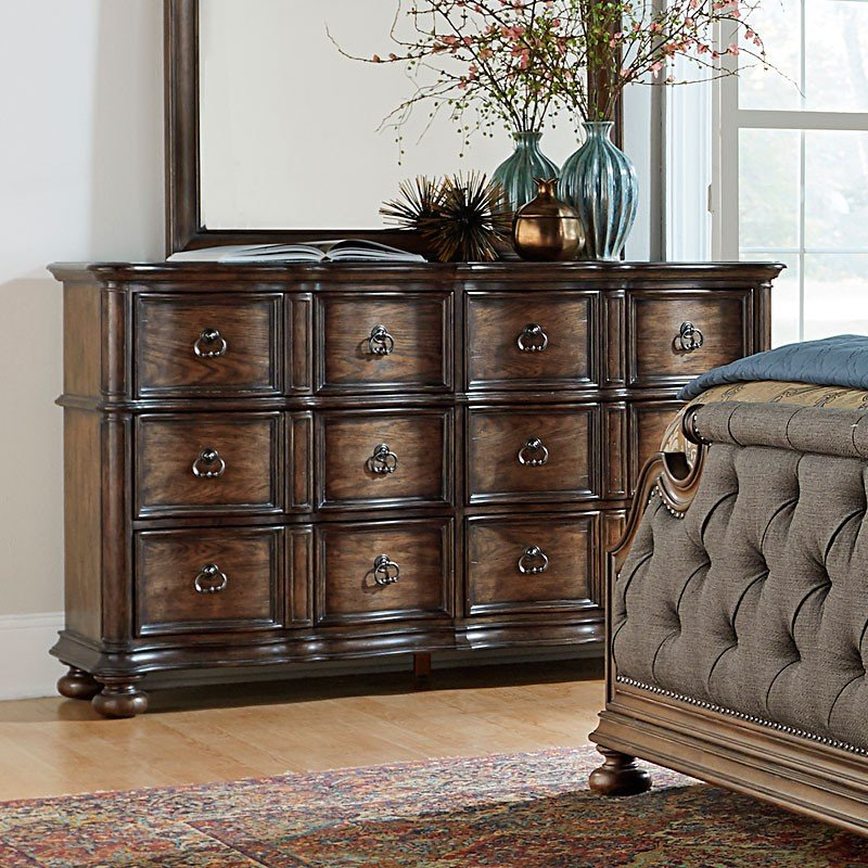 Tuscany Bedroom Furniture: Tuscan Valley Upholstered Bedroom Set Liberty Furniture