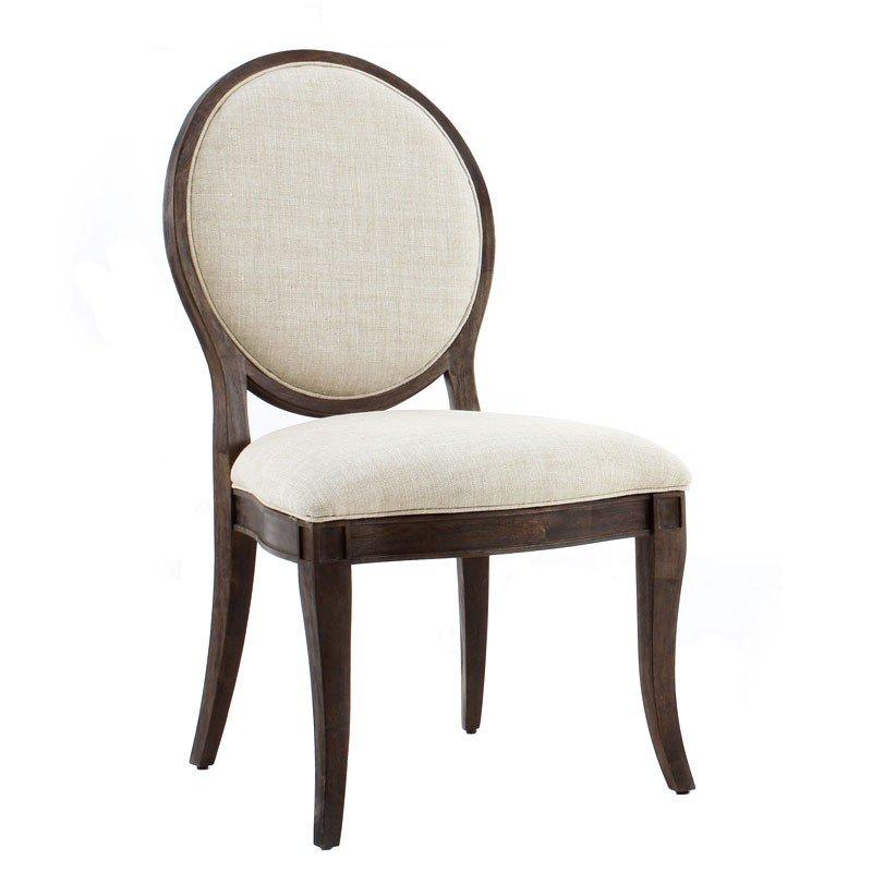 Saint Germain Oval Back Side Chair (Set Of 2) ART