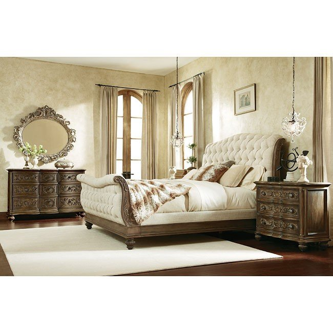 Ordinaire Jessica McClintock The Boutique Sleigh Bedroom Set (Baroque)