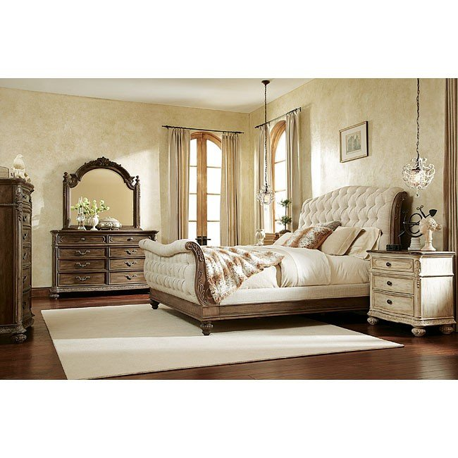 Exceptionnel Jessica McClintock The Boutique Sleigh Bedroom Set (Baroque)